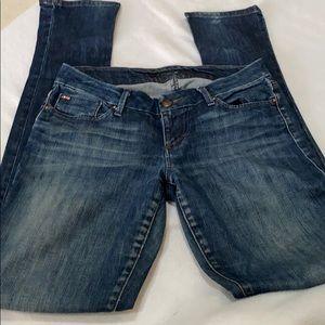 Joe's jeans size 25 boot cut distressed CHELSEA